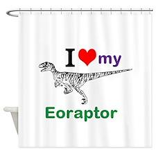 Eoraptor Shower Curtain