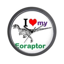 Eoraptor Wall Clock