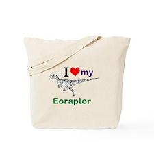 Eoraptor Tote Bag