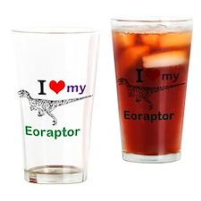 Eoraptor Drinking Glass