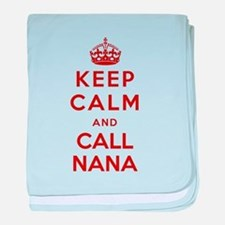 Call your Nana baby blanket