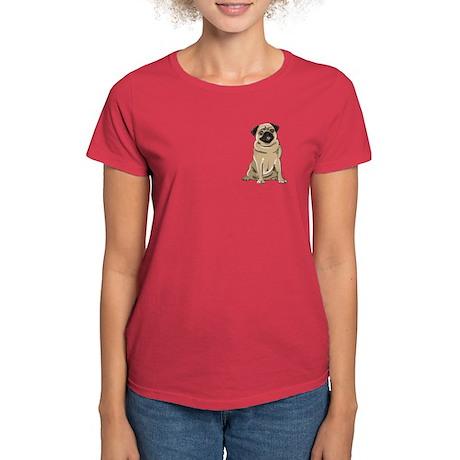 Fawn Pug Women's Dark T-Shirt