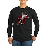 ORNATE Joker Red Long Sleeve T-Shirt