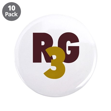 """RG3 3.5"""" Button (10 pack)"""