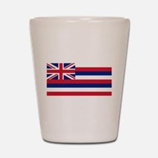 Hawaii State Flag Shot Glass