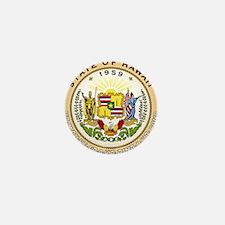 Hawaii State Seal Mini Button