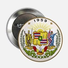 """Hawaii State Seal 2.25"""" Button (10 pack)"""