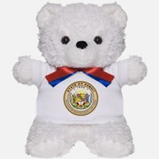 Hawaii State Seal Teddy Bear