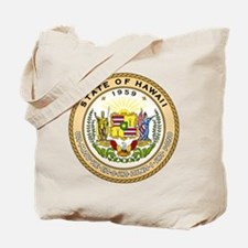 Hawaii State Seal Tote Bag