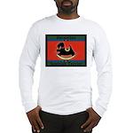 Scottish Terrier Rocking Dog Long Sleeve T-Shirt