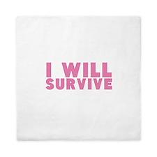 Breast Cancer Awareness. Queen Duvet