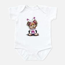 Yorkie Luv Bug Infant Bodysuit
