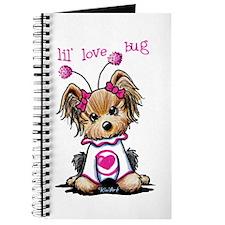 Yorkie Luv Bug Journal