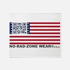 UNITED STATES of NRZ FLAG Throw Blanket