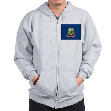 Idaho State Flag Zip Hoodie