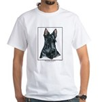 Scottish Terrier Open Edition White T-Shirt
