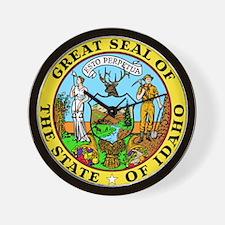 Idaho State Seal Wall Clock