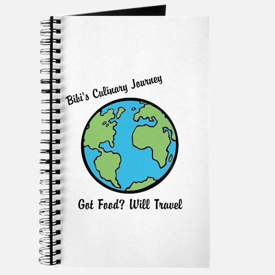 Bibis Culinary Journey Journal