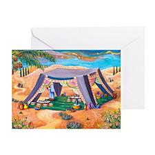 Abrahams Tent Greeting Card