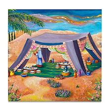 Abrahams Tent Tile Coaster