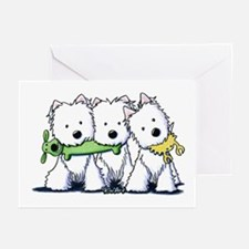 Westie Pro Players Greeting Cards (Pk of 10)