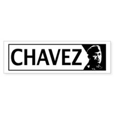 Chavez Bumper Car Sticker