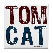Tom Cat Tile Coaster
