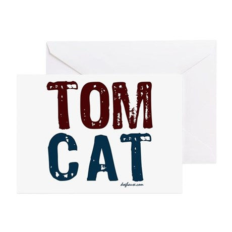 Tom Cat Greeting Cards (Pk of 10)