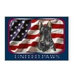 Scotty Dog United Paws Postcards (Package of 8)