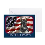 Scotty Dog United Paws Greeting Cards (Package of