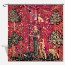 The Lady And The Unicorn Shower Curtain