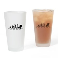 Cow Milking Drinking Glass