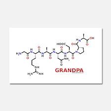 Grandpa molecularshirts.com Car Magnet 20 x 12