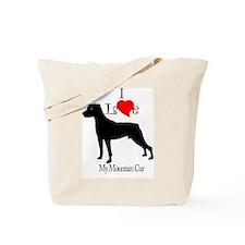 Mountain Cur Tote Bag
