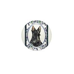 Scottish Terrier Designer Mini Button (10 pack)