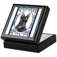 Scottish Terrier Designer Keepsake Box