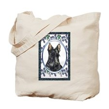 Scottish Terrier Designer Tote Bag