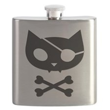 Pirate Kitty Flask (version 2)