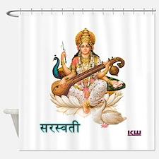 Saraswati Shower Curtain