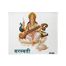 Saraswati Throw Blanket