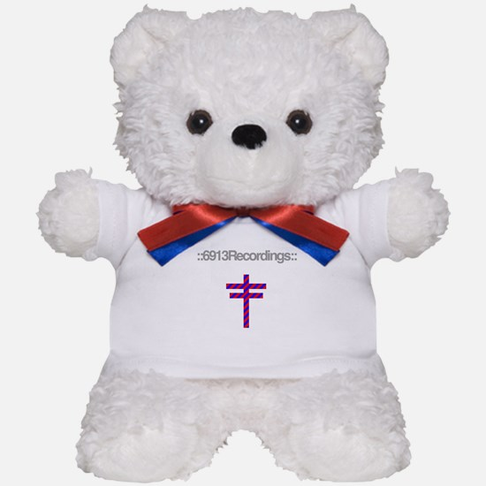 6913 Recordings logo t-shirt Teddy Bear