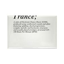 Trance definition Rectangle Magnet