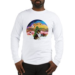 XMusic2-Collie (Tri) Long Sleeve T-Shirt
