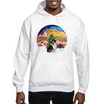 XMusic2-Collie (Tri) Hooded Sweatshirt