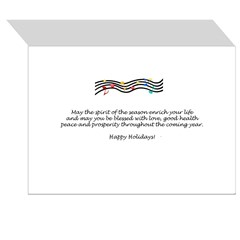 XMusic2-Collie (Tri) Greeting Card