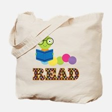Fun Read Bookworm Tote Bag