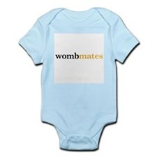 Wombmates_Orange Body Suit