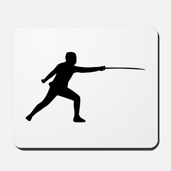 Fencing Mousepad