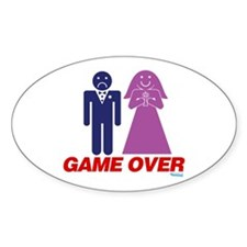 Game Over Marriage Decal