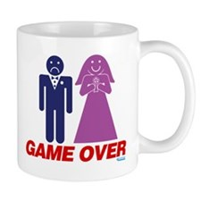 Game Over Marriage Mug